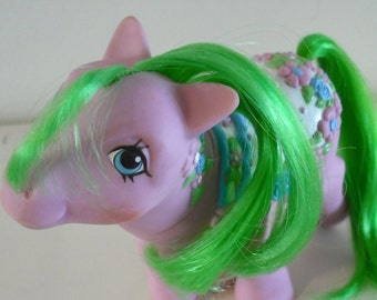 G1 My Little Pony Sunnybunch Merry Go Round Vintage Hasbro MLP MGR