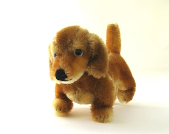 hexie  ...   vintage mohair steiff dachshund dog
