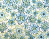 Lydia Floral Cream by Nicole Tamarin for Quilting Treasures - 1 1/2 Yard, 1 Yard, 1/2 Yard, and Fat Quarters                       05/2017