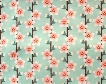 In The Beginning Americas Garden Deco State Delaware Peach Blossom - 2 Yards, 1 1/2 Yards, 1 Yard, 1/2 Yard, and FQs 2017
