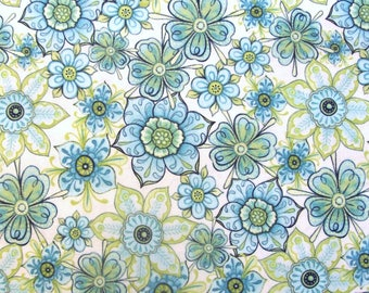 Lydia Floral Cream by Nicole Tamarin for Quilting Treasures - 1 Yard, 1/2 Yard, and Fat Quarters                       05/2017