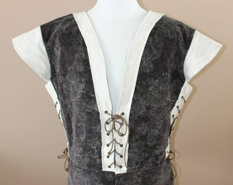 """Chest 50"""" Hunter Tudor Renaissance Medieval Mens Lords Doublet Game of Thrones Jacket"""