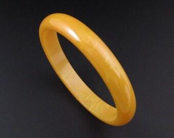 Bakelite Bracelet, Yellow Bakelite Bangle, Cream Corn Bakelite Bracelet, Bakelite Bangle, Yellow Bracelet, Yellow Bangle