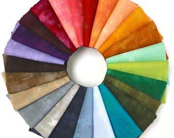 Grunge Basics (2017) - Fat Quarter Bundle by Basic Grey 25 Fabrics - Great Stash Builder!