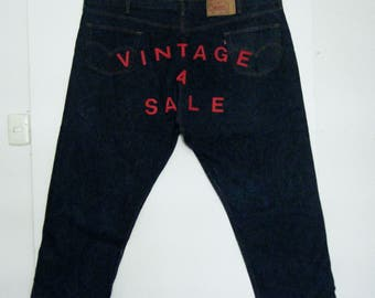 Store Display HUGE vintage LEVIS 501 XX Jeans Wall Hanging, size 58 x 30