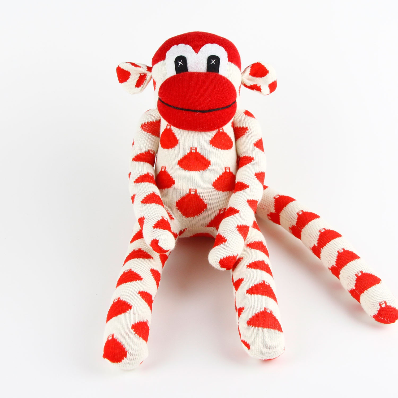 how to make a super sock monkey
