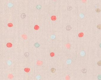 nani Iro -  colorful pocho Berry field  -  printed in Japan
