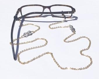 Glasses Chain || Grey