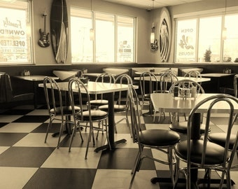 Sepia Tone - Burger Cafe