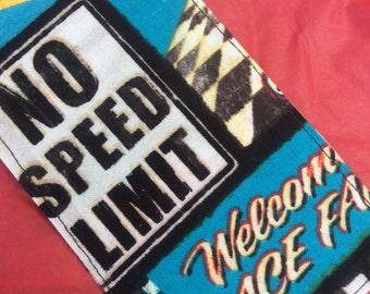 Race car luggage tag, NASCAR, racing, travel