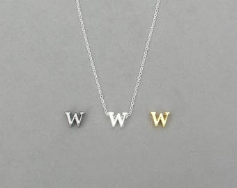 Initial w Necklaces