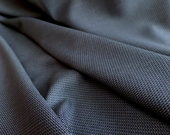 "Novelty Weave Suiting Fabric - 100% Worsted Wool - Stone Blue - Couture, Fashion, Tailoring - 60"" Wide - Exceptional Quality"