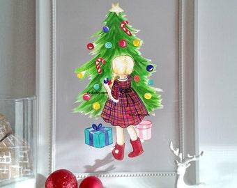 Christmas Joy Printable home decor-INSTANT DOWNLOAD Printable PDF - Christmas Holiday Printable Home Decor