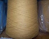 Gold Acrylic Yarn, 2/17 Gold Cone Yarn, Gold Knitting Yarn, Gold Sock Yarn, Gold Weaving Yarn, Gold Machine Knitting Yarn, Gold Crochet Yarn