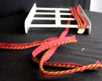 Red Pink Gold Small Lip Cord CS310 182