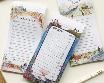 3 Notepad Set