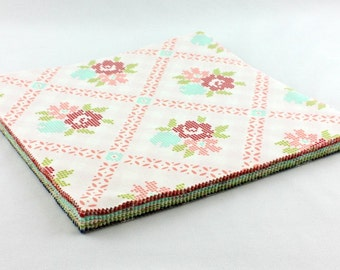 Vintage Picnic - Layer Cake by Bonnie and Camille for Moda (55120LC) 10 INCH Quilting Fabric