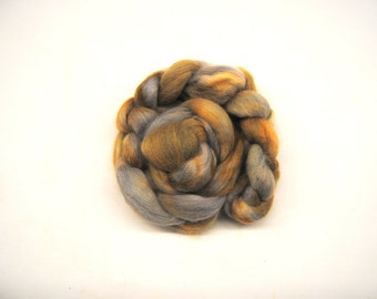 METALLURGY Hand-Dyed Alpaca Combed Top/Roving-4 ounces