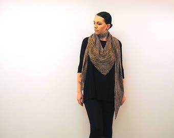 BARONIAL Knitting Pattern PDF DK weight Shawl