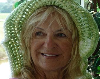 floppy summer hat women's crochet hat bohemian accessories