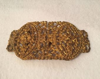 Victorian Belt Buckle - Original