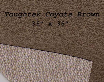 Toughtek Brown Non slip Fabric 36 by 36 inches