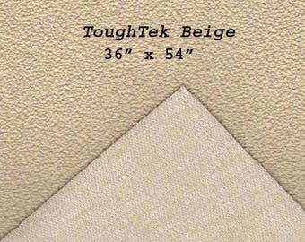 Toughtek Non slip Beige Fabric 54 by 36 inches