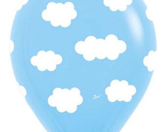 Cloud Biodegradable Latex 11 inch Balloon-10