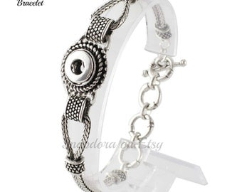 Mini Snap bracelet Will fit petite Ginger Snaps plus other 12 mm mini snap jewelry.