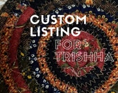 RESERVED FOR Trishha - Cotton Trivet, Candle Mat, or Hot Pad - #CottonPottery