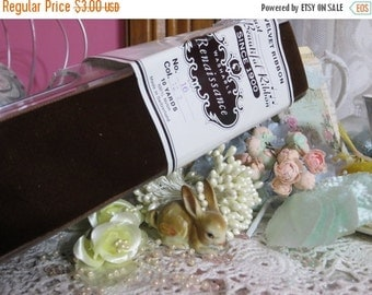 ON SALE Vintage Millinery Ribbon-Germany-Trim-Sewing-Dolls-Clothing-Scrapbooking-Embellishment-Card Making-Velvet-2.5 inch-BTY