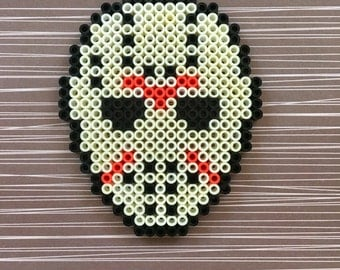 Jason Vorhees Perler Mask Friday the 13th
