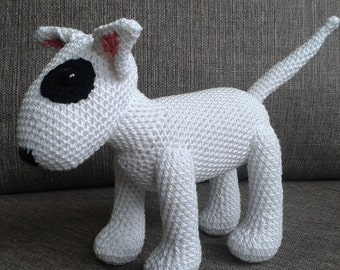 Crocheted Bull Terrier