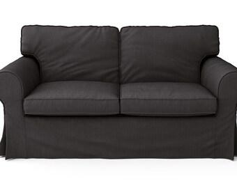 Custom Ikea Karlstad Sofa Slipcover 3 Seater With Long Skirt