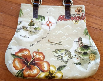 Tommy Bahama Fabric Handbag Vacation Bag