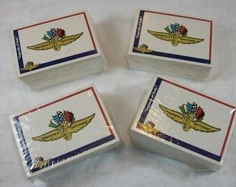 Vintage 1991 Indianapolis Motor Speedway Race Cards Legends of Indy Set of 4 Unopened NOS