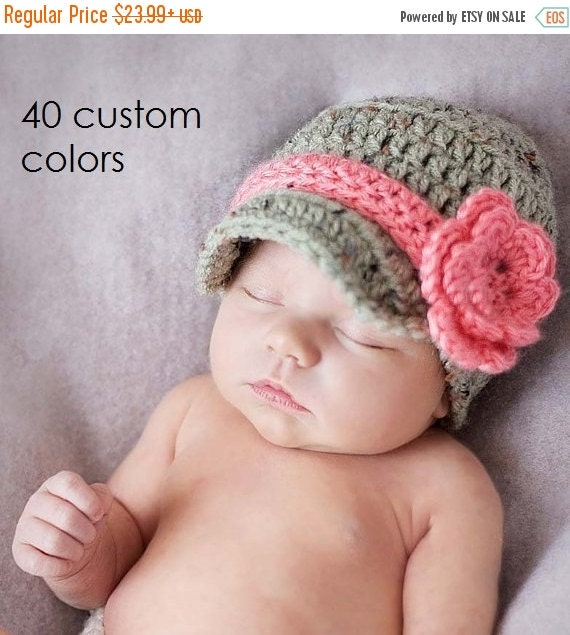 Crochet Hat, Baby Girl, Coming Home Outfit, Newborn Hat, Infant Hat, Baby Girl Hat, Newborn girl Hat, Baby Shower Gift, Take Home Outfit