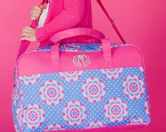 Zoey Travel Bag Personalized Monogrammed Duffel
