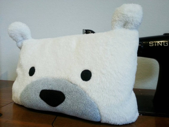 Cute Polar Bear Pillow Decorative Pillow Soft Pillow