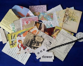 Small Paper Collage Pack (includes international postage)