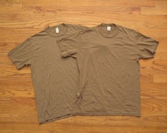 vintage military issue t shirt