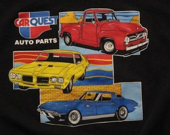 vintage Car Quest auto parts crew neck sweatshirt