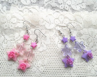 School Idol Earrings - Love Live, Idol Master, aikatsu  Cosplay earrings - Kawaii