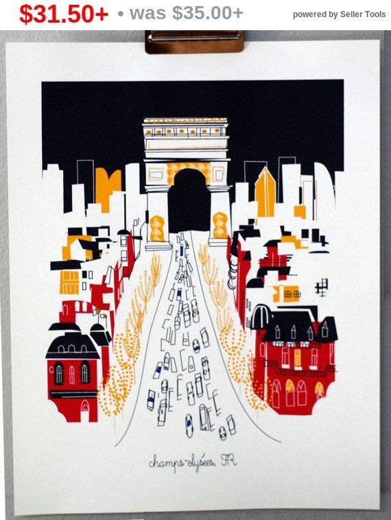 Holiday Sale CHAMPS ELYSEES Paris