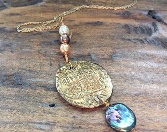 Pirate Treasure / Mermaid necklace