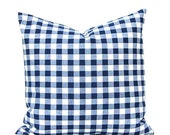 30% Off Sale Decorative Pillow Covers, Navy Blue Pillow Covers, Plaid PIllow Covers Plaid Cushion Covers Plaid Decor Throw Pillow, , Check P