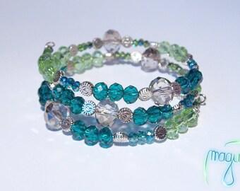Bracelet (memory wire) - Pacific