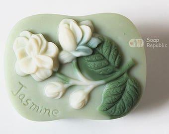 SoapRepublic Jasmine Flower Silicone Soap Mold
