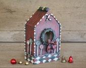 Christmas Sweets Birdhouse