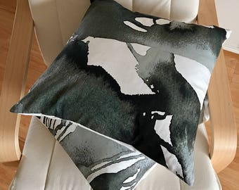 "2 Cushion covers 20""x20"" decor fabric"